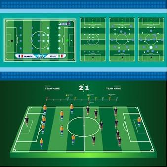 Diseño de tácticas de fútbol