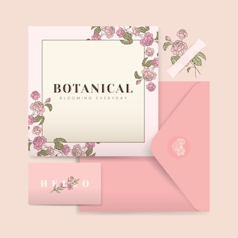 Diseño de la tarjeta de boda