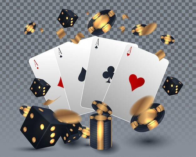 Diseño de tarjeta de casino