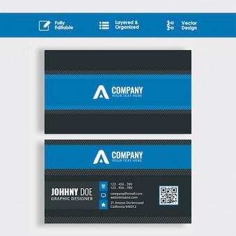 Diseño de tarjeta corporativa.
