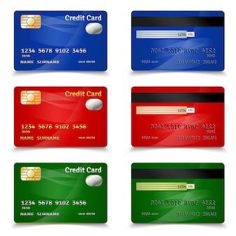 Diseño de tarjeta de crédito