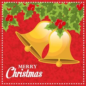 Diseño de tarjeta de feliz navidad y feliz año nuevo