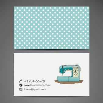 Diseño de tarjeta de visita de sastre