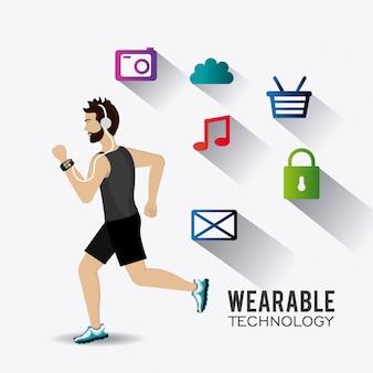 Diseño de tecnología wearable.