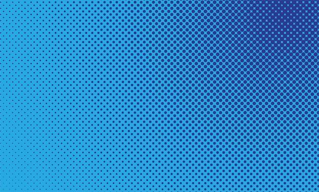 Diseño de telón de fondo cómico retro. fondo de arte pop con puntos de semitono