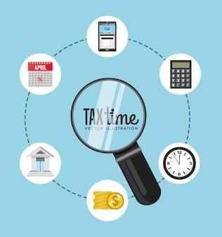 Diseño de tiempo de impuestos