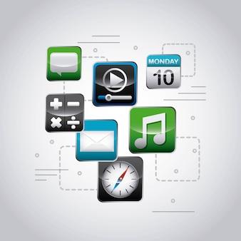 Diseño de la tienda de aplicaciones