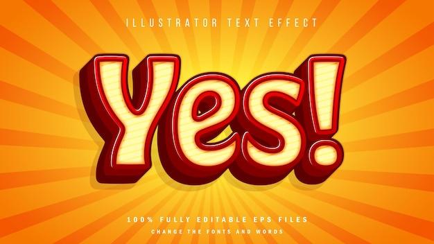 Diseño tipográfico de efecto de texto 3d verde fresco de la naturaleza