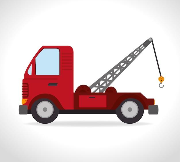 Diseño de transporte, ilustración vectorial.