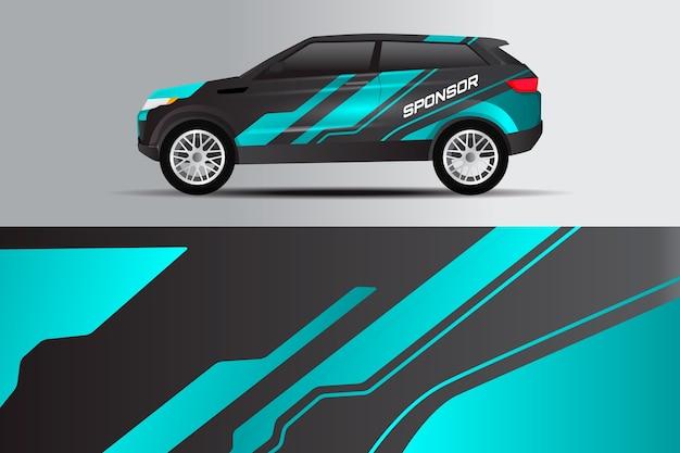 Diseño de urdimbre de coche duo tone