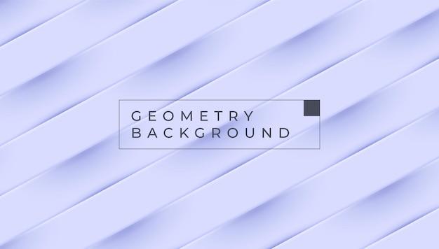 Diseño de vector de color de fondo geométrico azul pastel