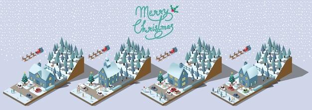 Diseño vectorial feliz navidad