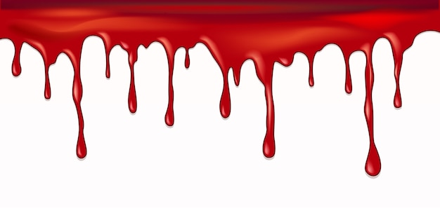 Diseño vectorial de sangre goteando