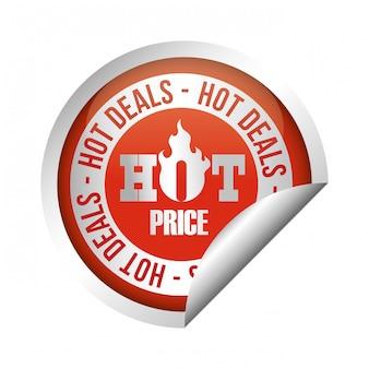Diseño de venta caliente