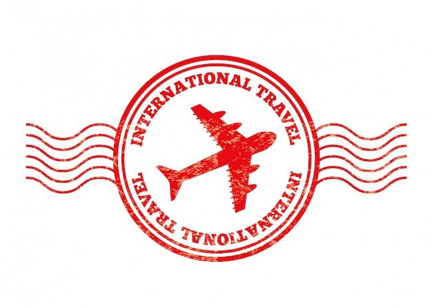 Diseño de viajes sobre fondo blanco ilustración vectorial