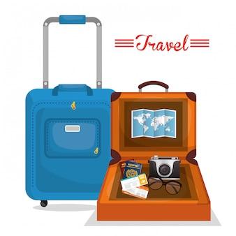 Diseño de viajes de vacaciones.