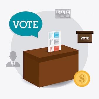 Diseño de la votación.