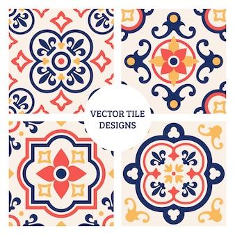 Diseños de azulejos