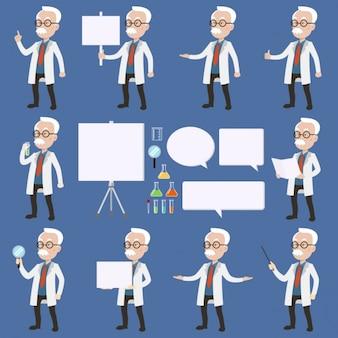 Diseños de científico