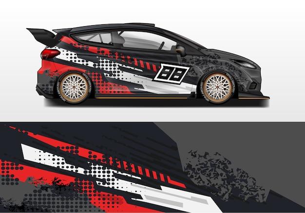 Diseños de envoltura de automóviles.