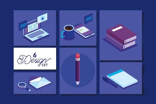 Diseños de equipos de oficina