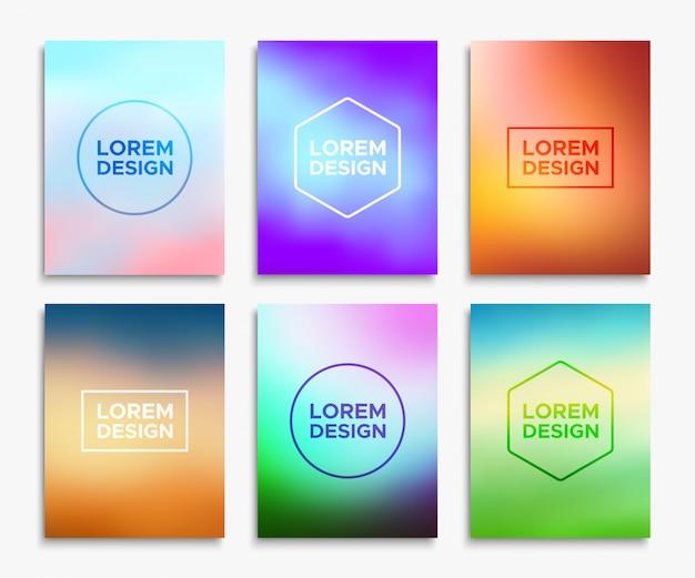 Diseños de folleto de folleto en tamaño a4.