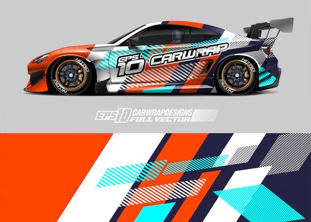 Diseños de librea de coches de rally