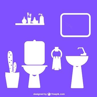 Diseños planos de baño