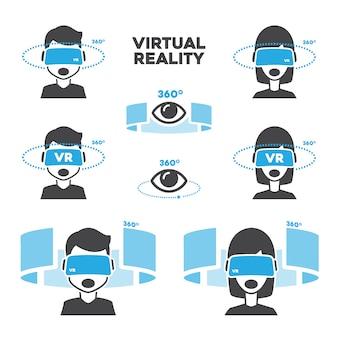 Diseños de realidad virtual