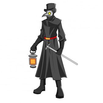 Disfraz de personaje de halloween