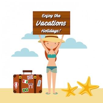 Disfrutar de las vacaciones vacaciones