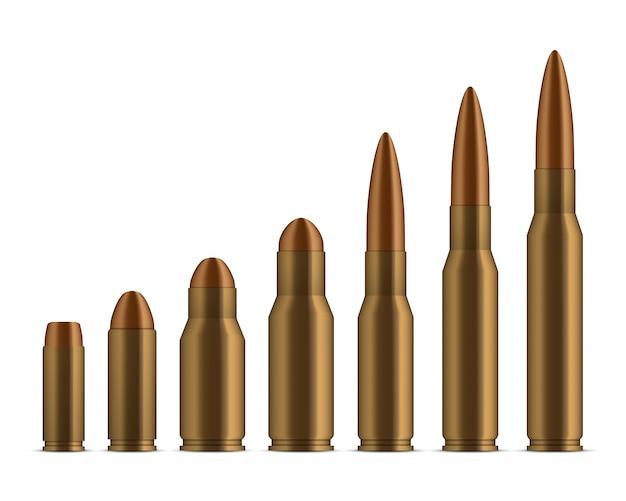 Disparo de balas, agujeros, disparos, arma calibre.