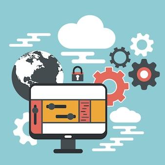 Dispositivo de computadora, seguridad de almacenamiento en la nube de datos