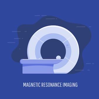 Dispositivo de exploración de imágenes de resonancia magnética médica de hospital
