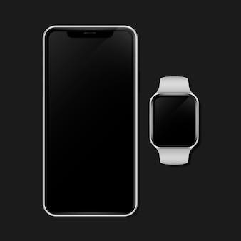 Dispositivo de maqueta de dispositivo digital