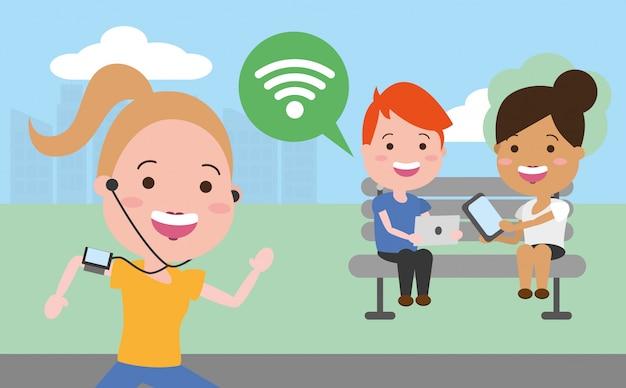 Dispositivo de tecnología de personas