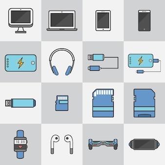 Dispositivos de tecnologia