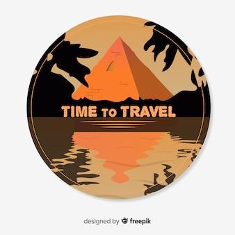 Distintivo de viaje