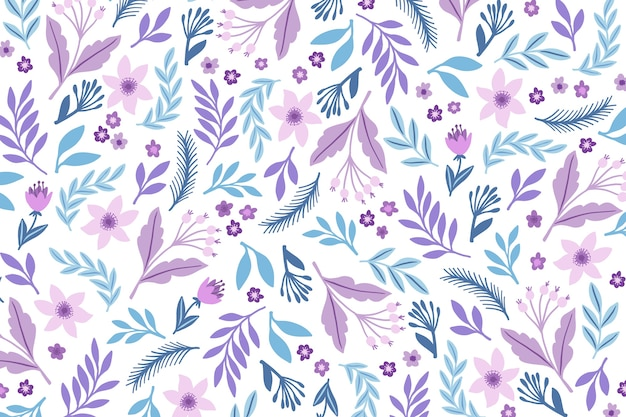 Ditsy fondo estampado floral