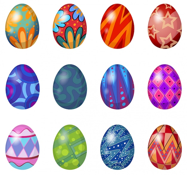 Una docena de huevos de pascua