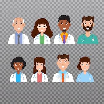 Doctor avatar, personal médico