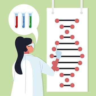 Doctora ingeniería genética