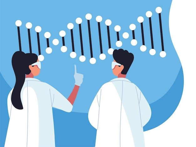 Doctores del adn genético