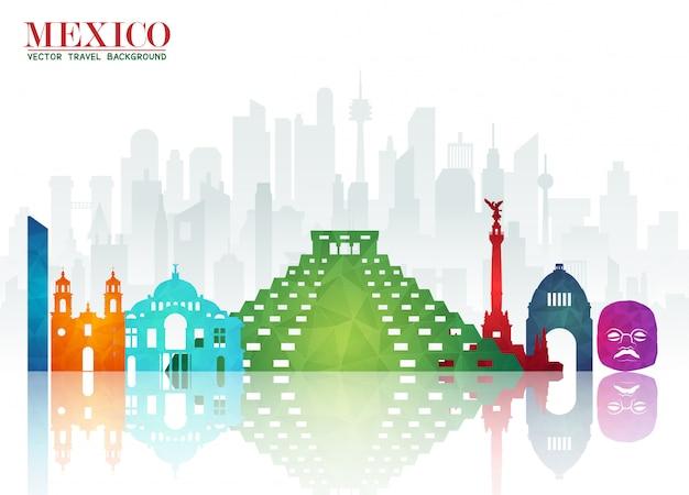 Documento de referencia mundial de viajes y viajes de méxico