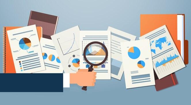 Documentos del diagrama de finanzas