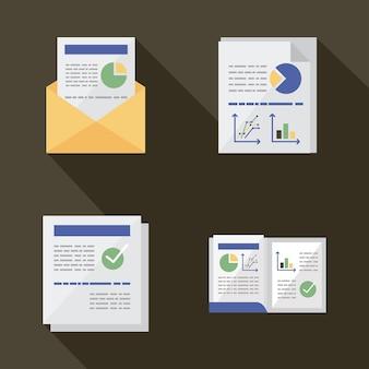 Documentos con infografías.