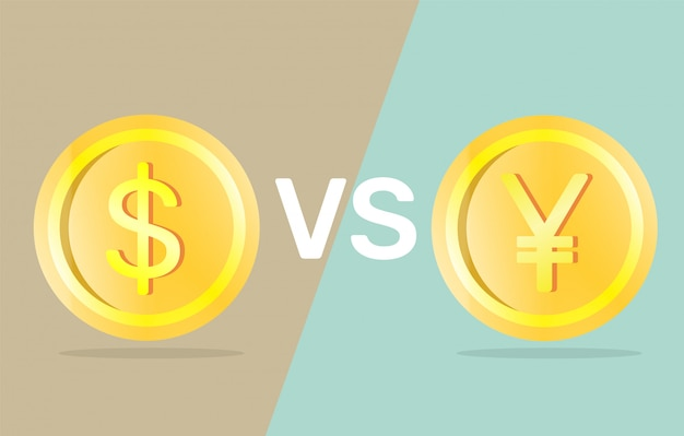 Dólar vs yuan.