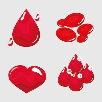 Donación de sangre clipart