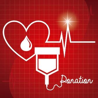Donar diseño de sangre