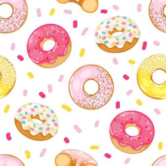 Donuts de patrones sin fisuras